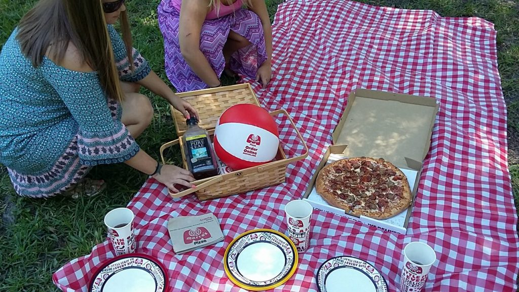 Marco's Pizza Picnic (July National Picnic Month 2017)