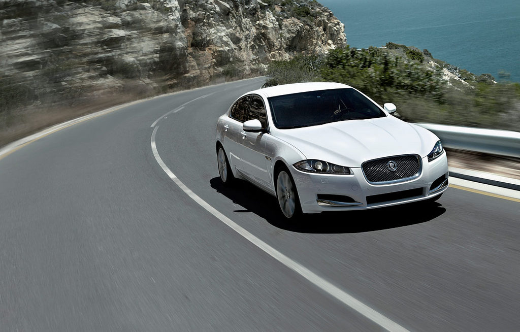 Test Driving The Jaguar XF