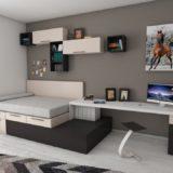 Teen Bedroom Nightmare To Orderly Functional Living Space