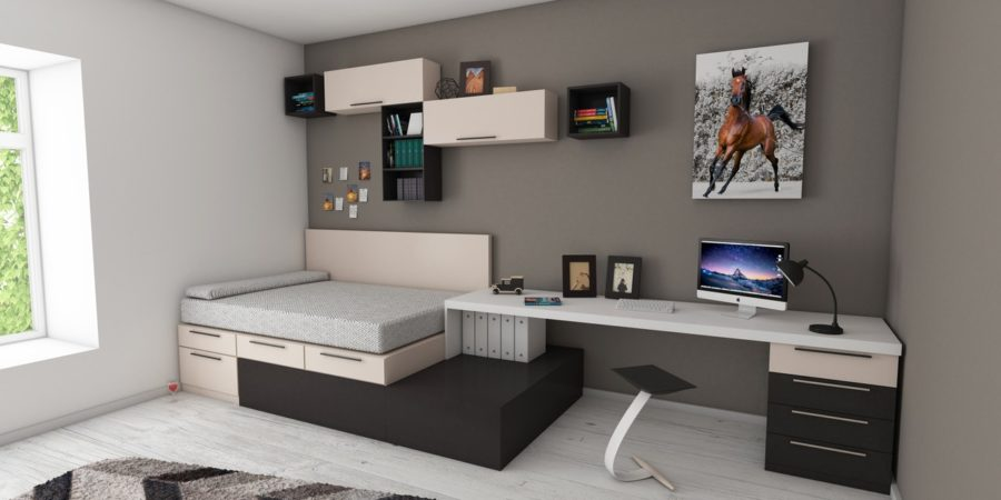 Teen Bedroom Nightmare To Orderly Functional Living Space